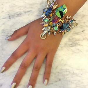Bohemian Glass Bracelet - The Carly Morgan