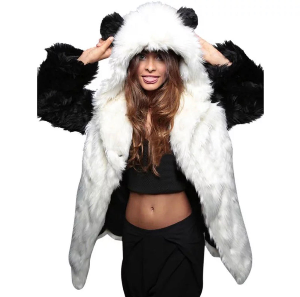 Panda Bear Jacket - The Carly Morgan