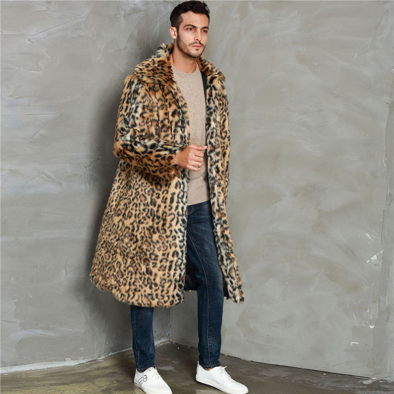Men's Leopard Jacket - The Carly Morgan