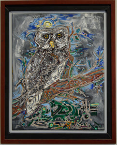 "David Fischel, ""Owl"""