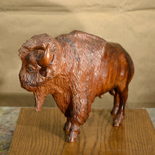 "Load image into Gallery viewer, Thomas Suby with Ramon D.C., ""Standing Bison"""