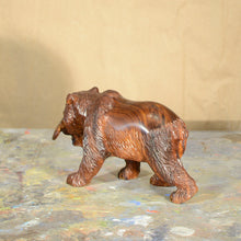 "Load image into Gallery viewer, Thomas Suby with Ramon D.C., ""Small Bear with Salmon"""