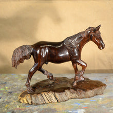 "Load image into Gallery viewer, Thomas Suby with Ramon D.C., ""Trotting Horse"""