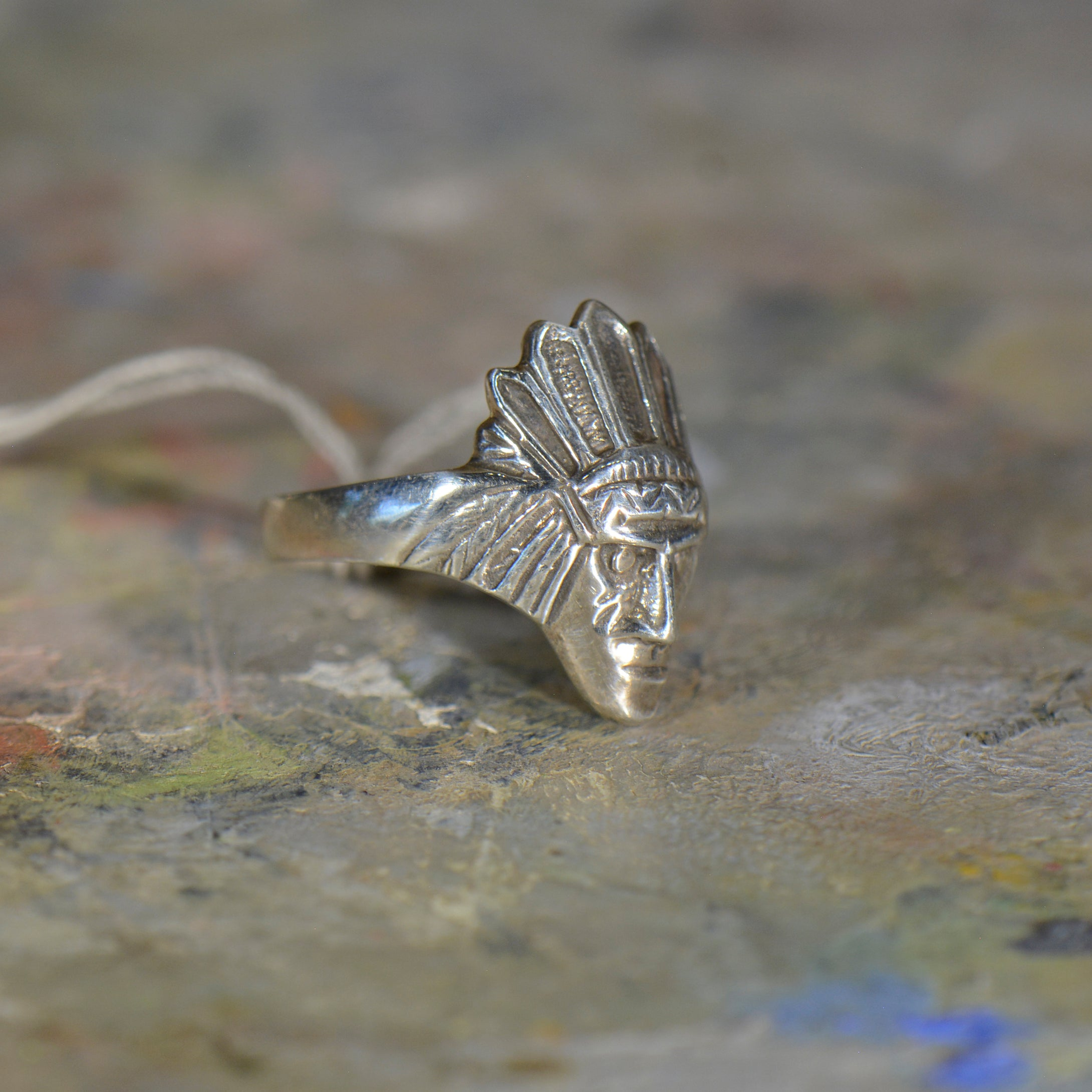 Vintage silver ring. Size 10