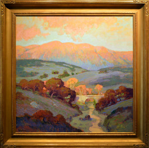 "Richard Rackus ""Glow and Sunset of Ojai California"""