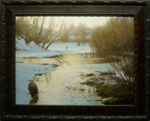 "Richard Murray ""Winter Pond"""