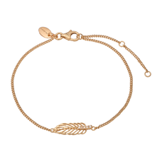 Load image into Gallery viewer, Feather Bracelet Gold