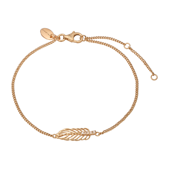 Feather Bracelet Gold
