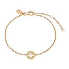 Load image into Gallery viewer, Dove Of Peace Bracelet Gold