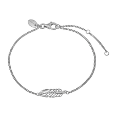 Load image into Gallery viewer, Feather Bracelet Silver