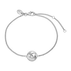 Load image into Gallery viewer, The World Bracelet Silver with Gemstones