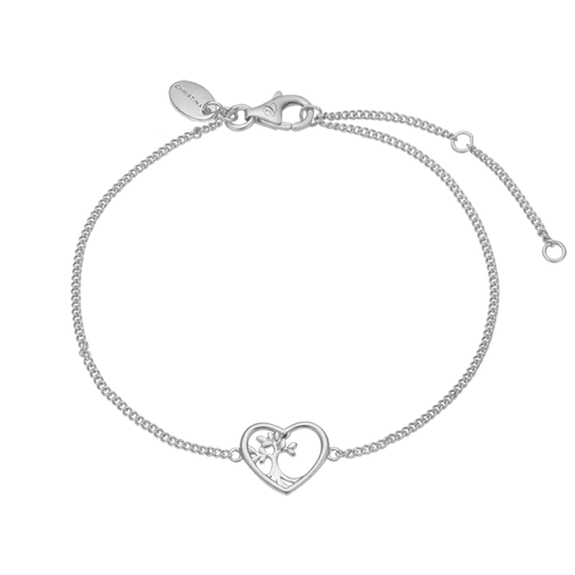 The Christina Jewelry's Tree Root Bracelet is beautifully designed to celebrate that initial causation or starting point of Love & Life itself.  For that special touch and to make our Bracelet Collection even more special, all the bracelets in our collection are delicately and expertly handcrafted in 925 Sterling Silver and finished in Rhodium Plating.