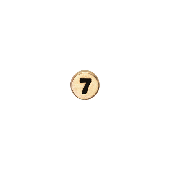 Number 7 Watch Element Gold