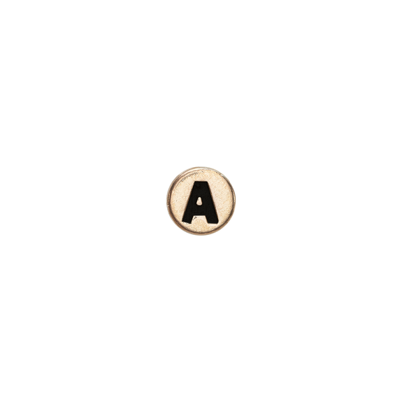 Letter A Watch Element Gold