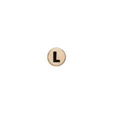 Load image into Gallery viewer, Letter L Watch Element Gold
