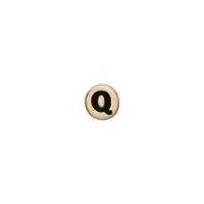 Load image into Gallery viewer, Letter Q Watch Element Gold