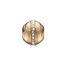 Load image into Gallery viewer, Topaz Magic Bead Charm Gold with Gemstones