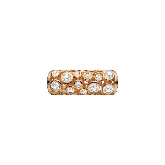 Petitie Sparkling Universe Tube Gold with Gemstones