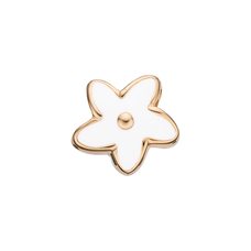 Load image into Gallery viewer, Flower Heaven Bead Charm Gold and White