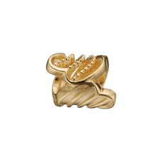 Load image into Gallery viewer, Twist of Joy Bead Charm Gold