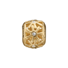 Load image into Gallery viewer, Wisdom Bead Charm Gold with Gemstones