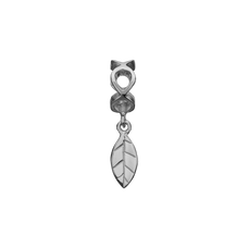 Load image into Gallery viewer, moving Leaf Hanging Charm Silver