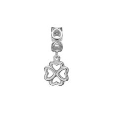Load image into Gallery viewer, Moving Foursome Hanging Charm Silver