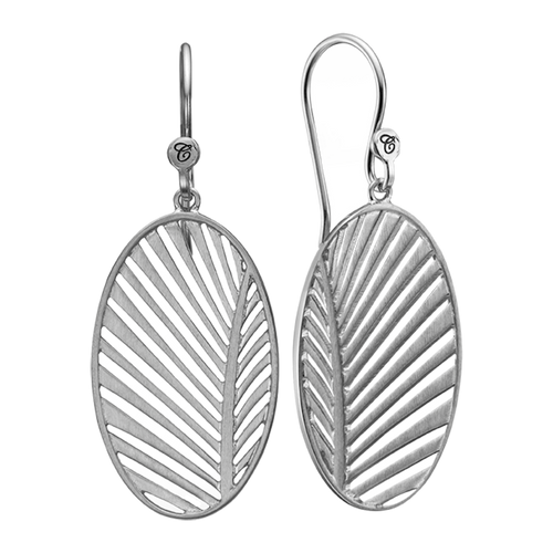 Celebrate your unique awesomeness and positive energy with this beautifully designed earrings in the shape of a Palm Leaf that across eons and cultures has symbolised victory with integrity.  For that special touch all the pieces in our Jewellery Collection are delicately handcrafted in 925 Sterling Silver and finished with Rhodium Plating.