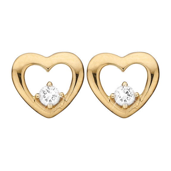 Mother's Heart Gift Set - Gold