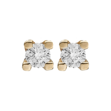 Load image into Gallery viewer, Small DiamondÊ Studs Gold with Gemstones