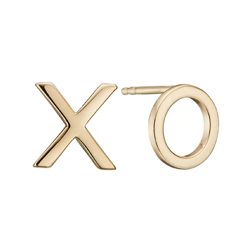 How many Hugs & Kisses do you need in your life? We think that there are never enough! so why not celebrate them or cheekily request them with these Stud Earrings. For that special touch all the pieces in our Jewellery Collection is delicately handcrafted in 925 Sterling Silver and finished with an 18ct Gold Plating.