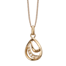 Load image into Gallery viewer, Beauty Necklace Gold with Gemstones