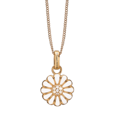Load image into Gallery viewer, Marguerite Necklace Gold with Gemstones