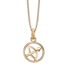 Load image into Gallery viewer, Zodiac Sagittarius Necklace Gold