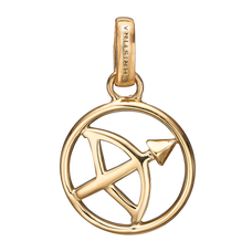 Load image into Gallery viewer, Zodiac Sagittarius Pendant Gold