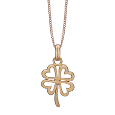 Load image into Gallery viewer, Foursome Luck Necklace Gold