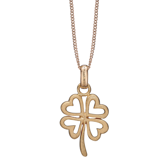 Foursome Luck Necklace Gold