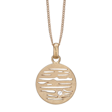Load image into Gallery viewer, Jupiter Necklace Gold with Gemstones