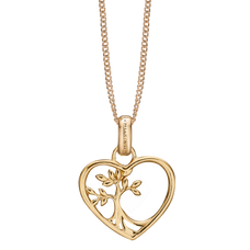 Load image into Gallery viewer, The Christina Jewelry's Tree Root Pendant is beautifully designed to subtly celebrate the starting point of Love & Life itself. For that special touch and to make your Pendent a bit more special all the Pendent in our collection are delicately and expertly handcrafted in 925 Sterling Silver and finished in 18ct Gold  Plating.
