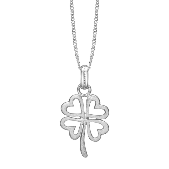 Foursome Luck Necklace Silver
