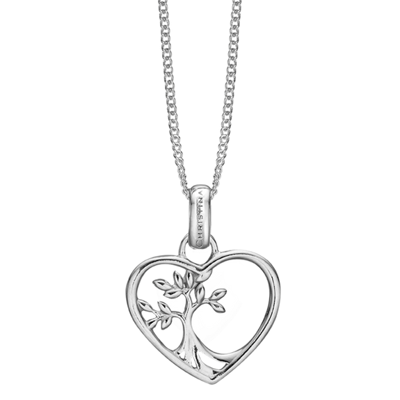 The Christina Jewelry's Tree Root Pendant is beautifully designed to subtly celebrate the starting point of Love & Life itself. For that special touch and to make your Pendent a bit more special all the Pendent in our collection are delicately and expertly handcrafted in 925 Sterling Silver and finished in a Rhodium Plating.