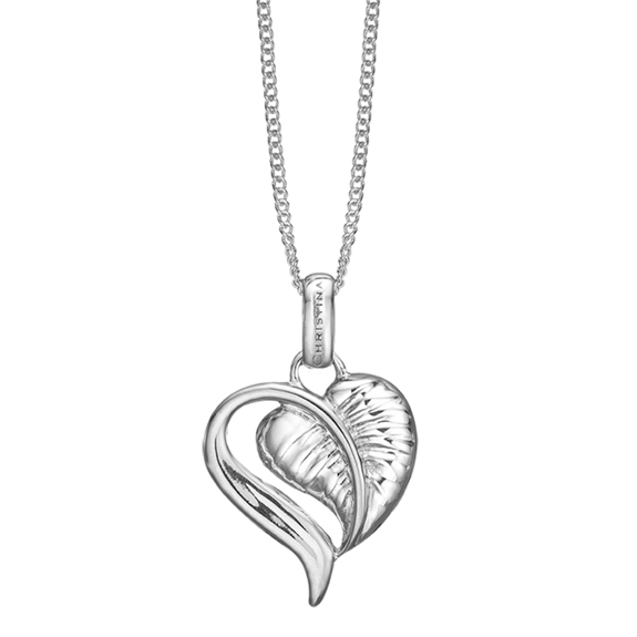 The Leaf of Love is reminder of the beauty of love in everyday life, a life that is laced with creative ideas that inspire a compassionate caring and tender Love.  Something that can be celebrated whenever you put on your Leaf of Love Pendent delicately handcrafted in Rhodium Plated Sterling Silver