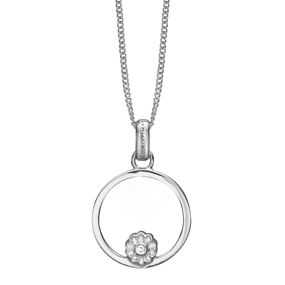 The Christina Jewelry's Infinite Purity Pendant is beautifully designed to subtly remind one of the beauty and purity of endless unconditional love  The Infinite Purity Pendent is embellished with Real White Topaz Gemstone, and for that special touch and to make our Pendant Collection even more special, all the Pendants in our collection are delicately and expertly handcrafted in 925 Sterling Silver and finished in either 18ct Gold or Rhodium Plating.