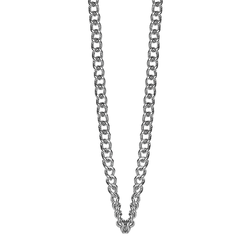 The Christina Necklace  is hand made in 925 Sterling Silver and finished with a Rhodium Plating and comes in two adjustable options for perfect stacking.