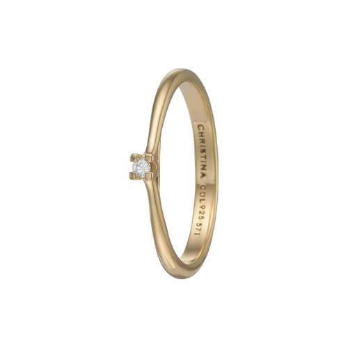 Diamond Ring Gold with Gemstones