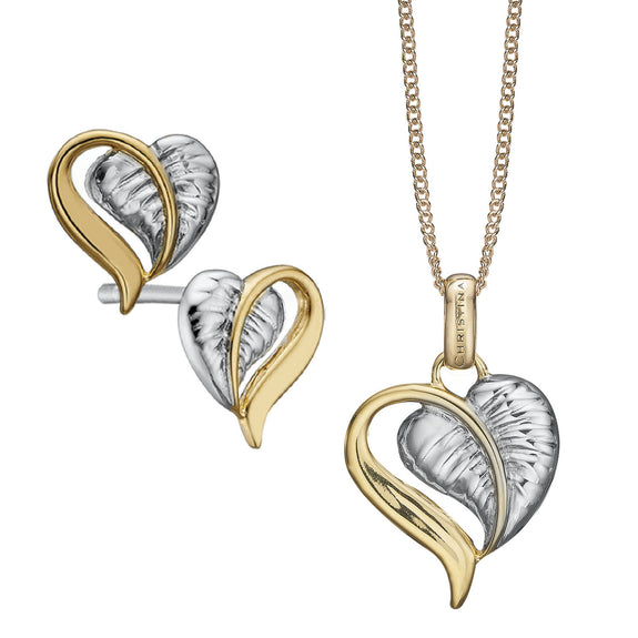 Golden Leaf of Love Set
