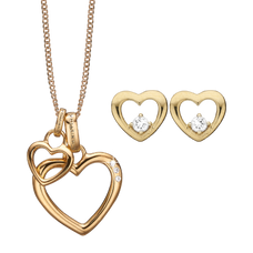 Load image into Gallery viewer, Mother's Heart Gift Set - Gold