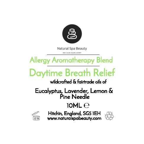 Breathe into me - Allergy Relief - Natural Spa Beauty