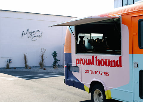 Photo of Proud Hound Mobile Coffee Truck at Mojave East