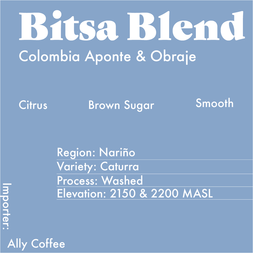 Info card for the Bitsa Blend